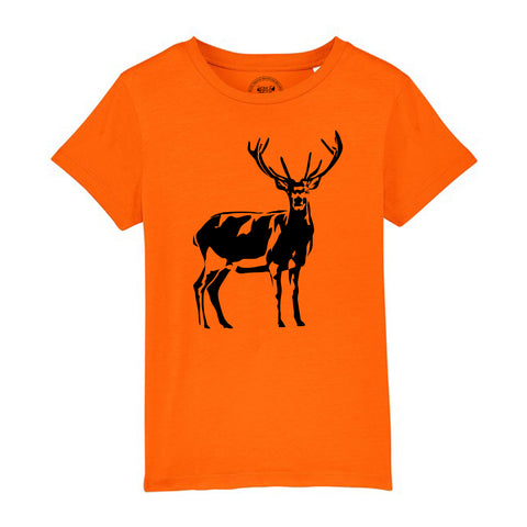 Boys Stag / Deer T-Shirt - Tiger Prints