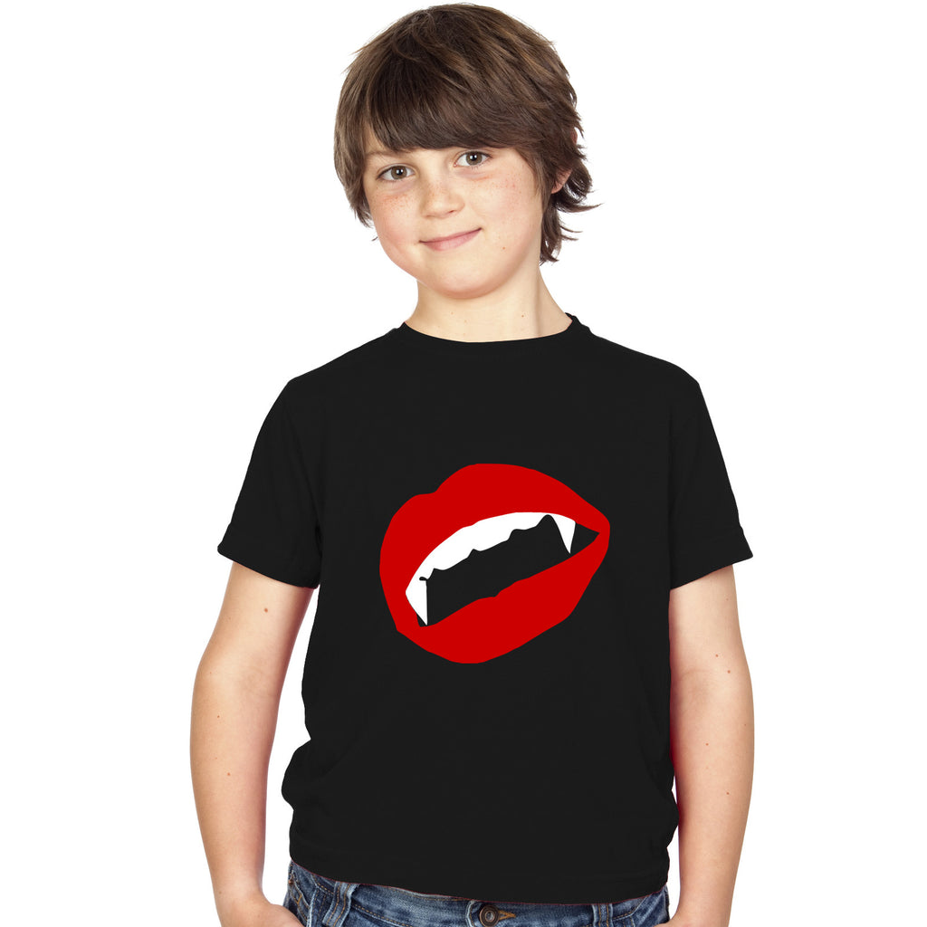 Boys Vampire T-Shirt - Tiger Prints