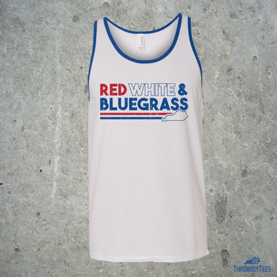 Red White & Bluegrass - White Tank