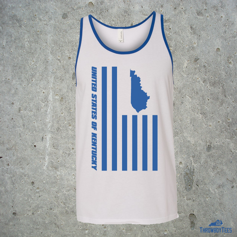 US of Kentucky - White Tank