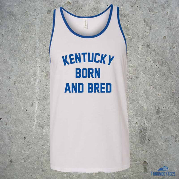 Kentucky Born and Bred - White Tank