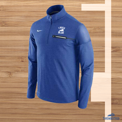 Nike Elite I Rock Blue Coaches 1/4 zip