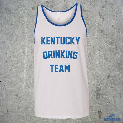 Kentucky Drinking Team - White Tank