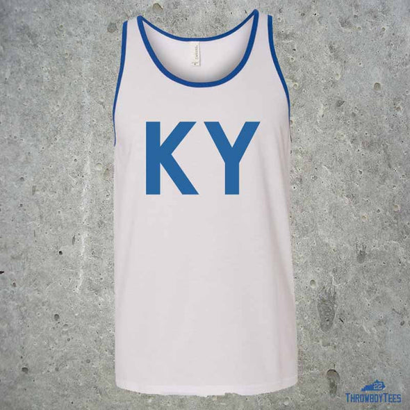 KY Text - White Tank