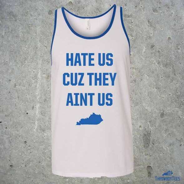 Hate Us - White Tank