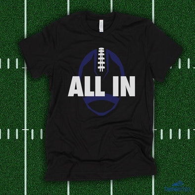 All In Football - Black Tee
