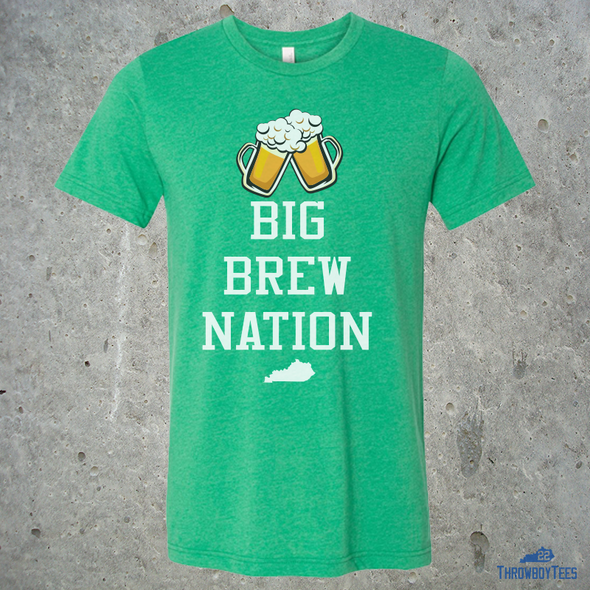 Big Brew Nation - Green Tee