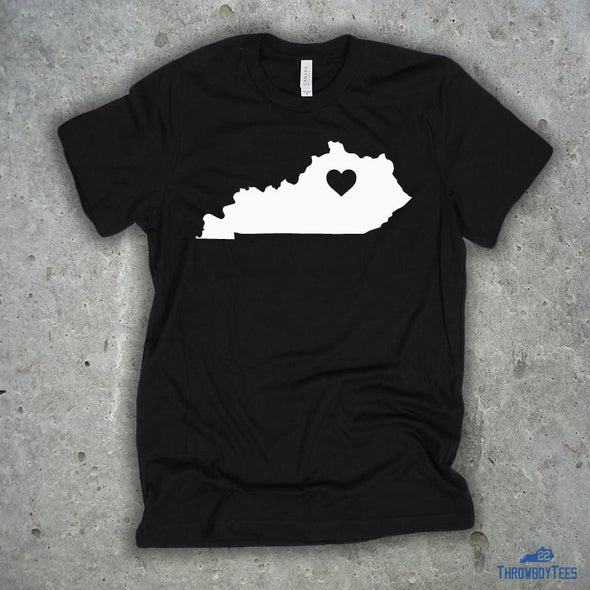 Kentucky Solid - Black Tee