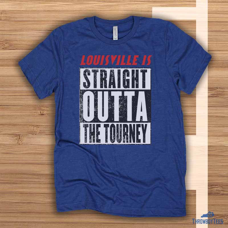 Straight outta the tourney - Blue tee