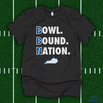 Bowl Bound Nation - grey tee
