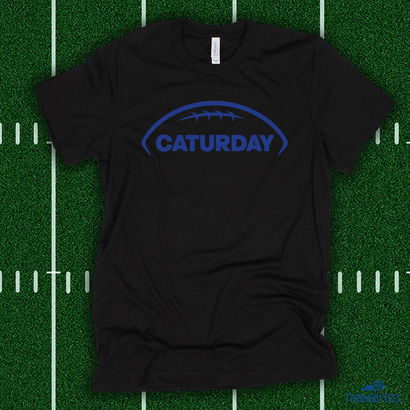 Caturday - Black Tee