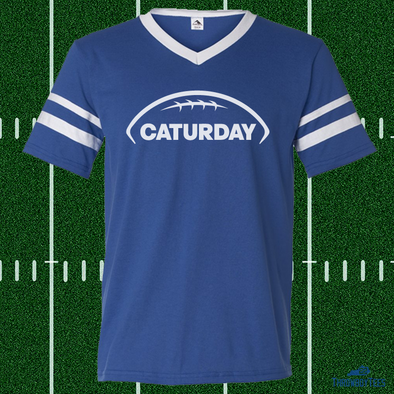 Caturday - Blue Jersey