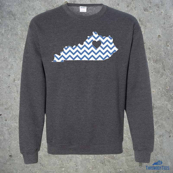 State Chevron - grey sweatshirt