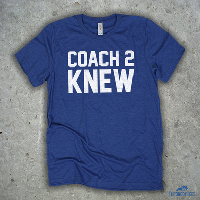 Coach 2 Knew - Blue