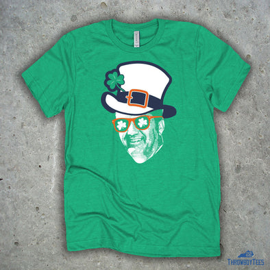 Coach Leprechaun Face - Heather Kelly