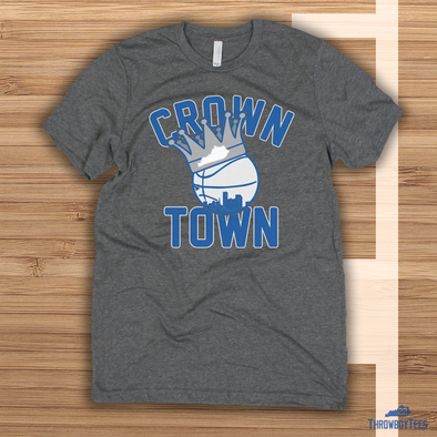Crown Town - Grey Tee