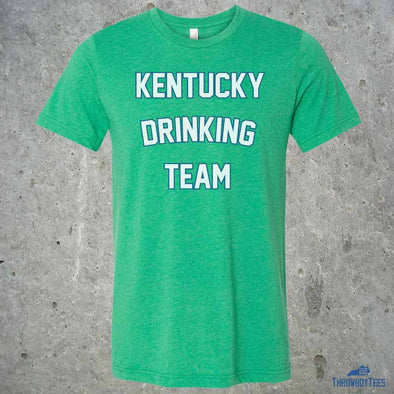 Kentucky Drinking Team St Patricks - Green Tee