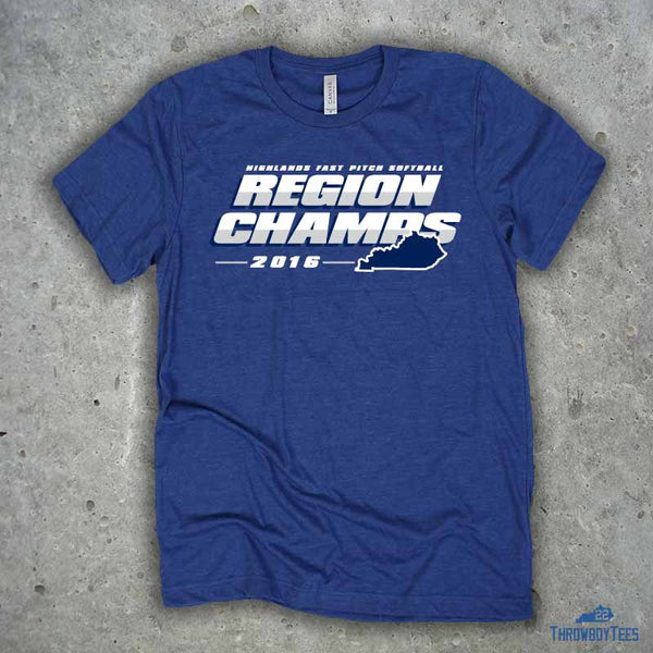 Region Champs - Blue tee