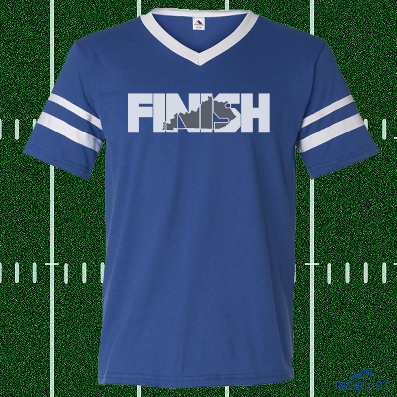 FINISH - Blue Jersey