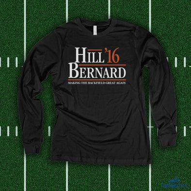 Backfield - Black Longsleeve
