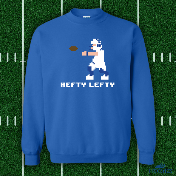Hefty Lefty Crewneck Sweatshirt - Blue