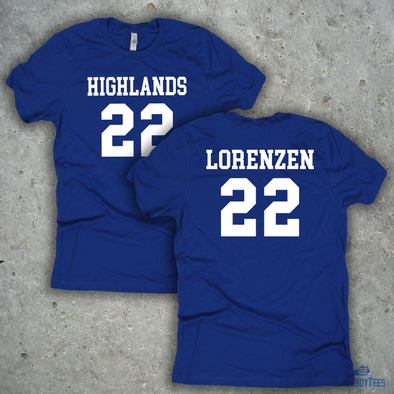 Bluebirds #22 Shirsey