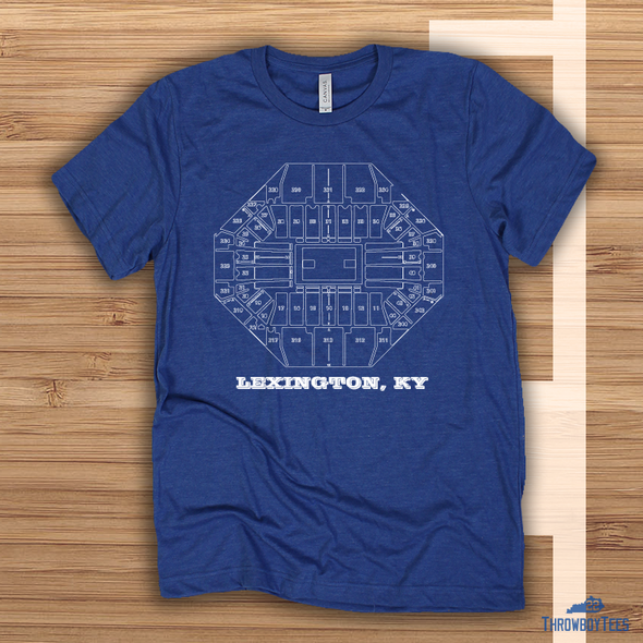 Home Court - Blue Tee