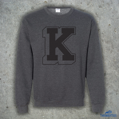 3D Power K Crewneck - Grey