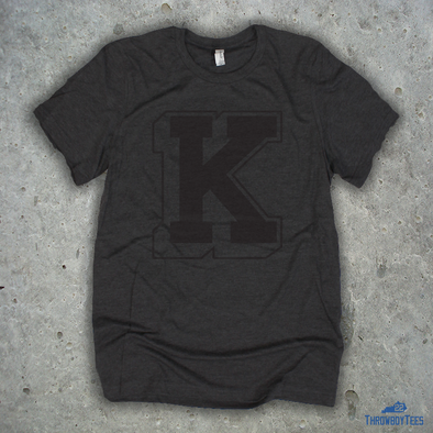 3D Power K Tee - Dark Grey