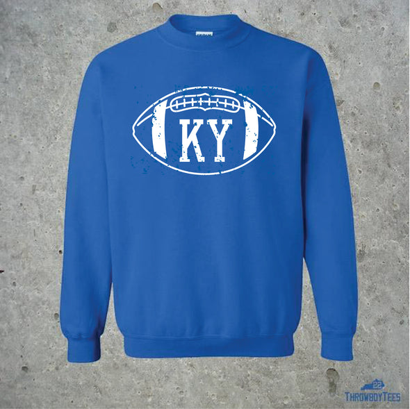 KY Football Crewneck Sweatshirt