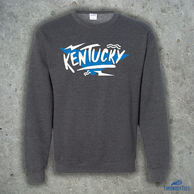 Kentucky 90's Crewneck - Heather Grey
