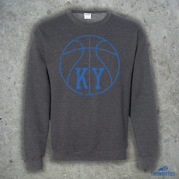 KY Basketball Crewneck Sweatshirt