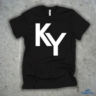KY Text - Black Tee