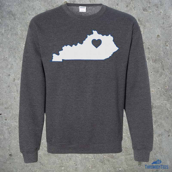 State Heart - grey sweatshirt