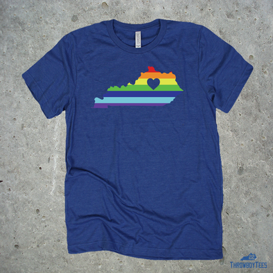 Kentucky Rainbow - Unisex tee
