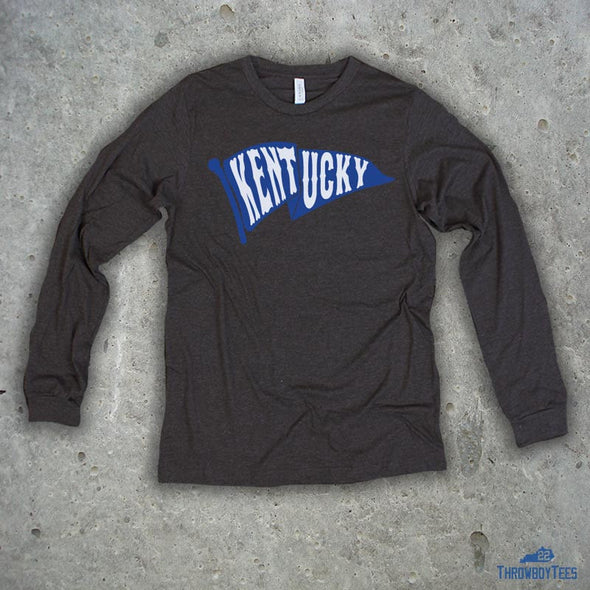 Kentucky Flag - GreyLongsleeve