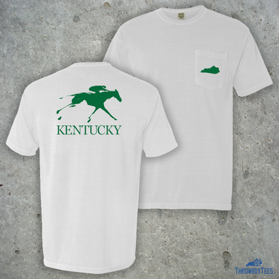 Kentucky Horse - Comfort Colors White