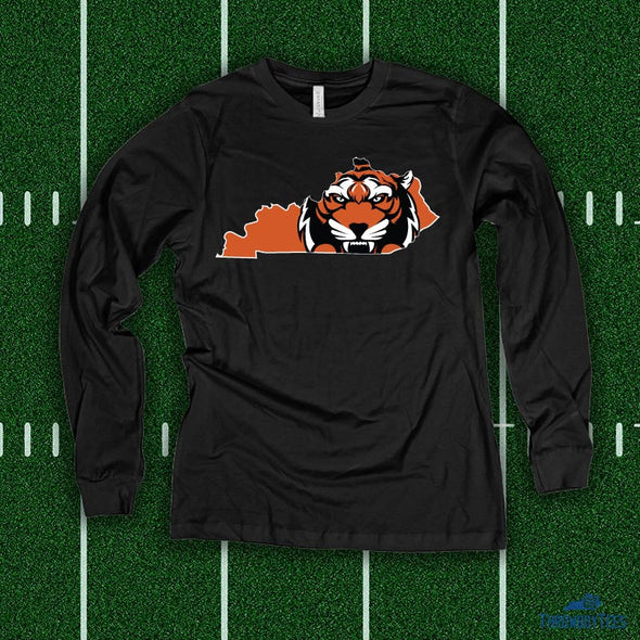 Kentucky State Cat - Black Longsleeve