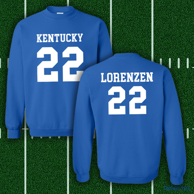Kentucky #22 Crewneck Shirsey