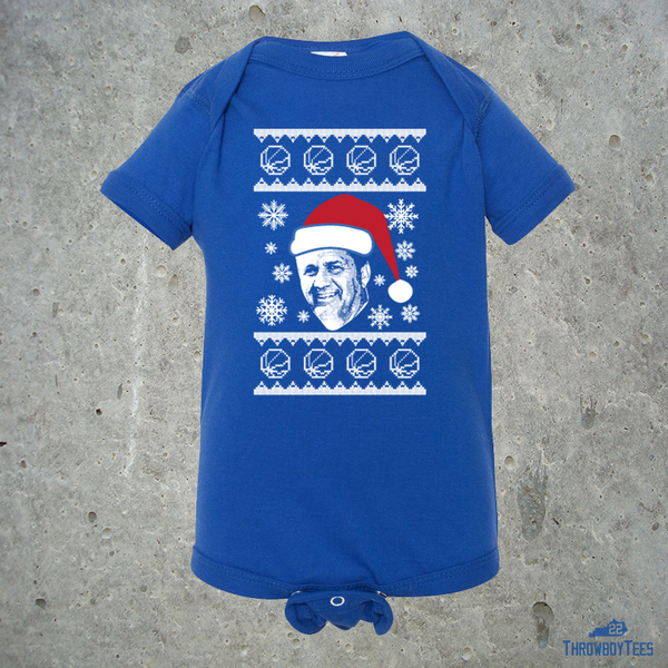 CP Ugly Sweater - Blue onesie