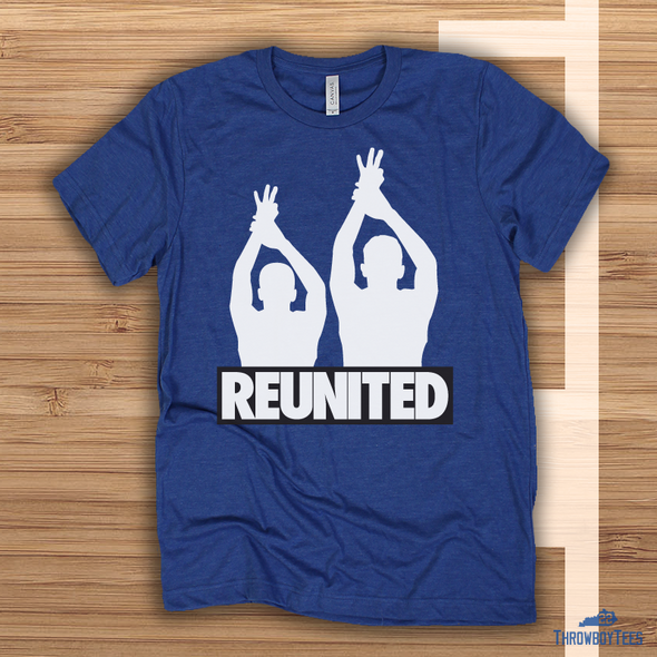 Reload Reunited - blue tee