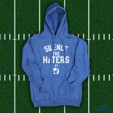 Silence The Haters - Blue Hoodie