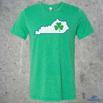Kentucky State Clover - Green Tee