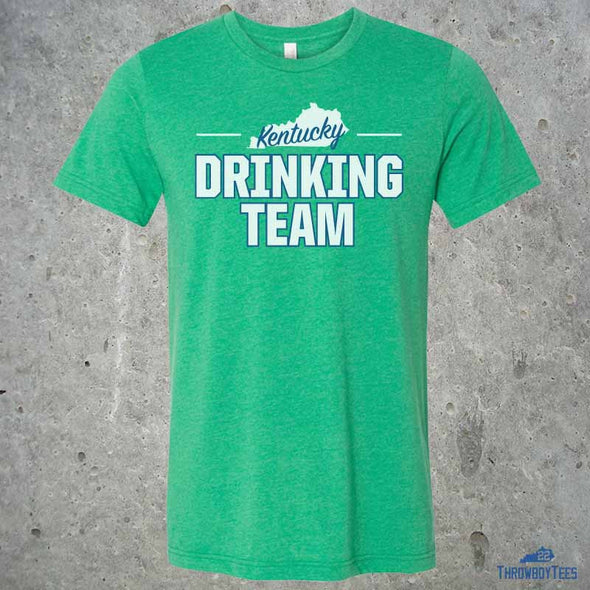 State Drinking Team - Green Tee