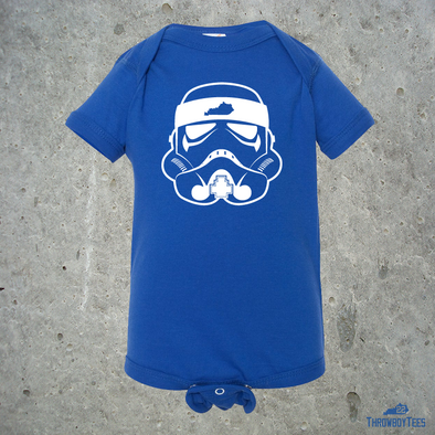 Trooper - Blue onesie