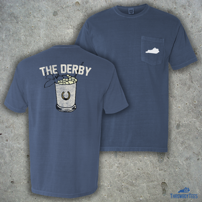 The Derby - Comfort Colors Blue Jean