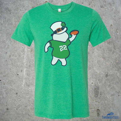 St Patricks Throwboy - Green Tee (Jared Lorenzen Collection)