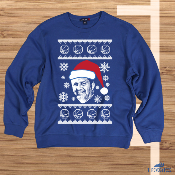 CP ugly sweater - blue sweatshirt