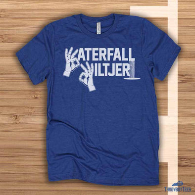 Waterfall Wiltjer - blue tee (Kyle Wiltjer Collection)