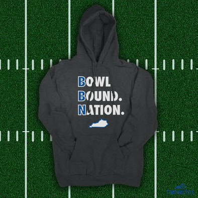 Bowl Bound Nation - grey hoodie